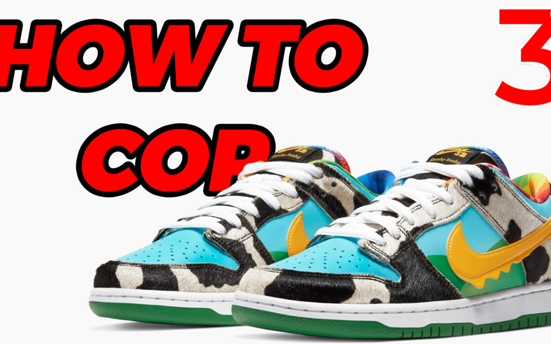 """Ben & Jerry's x Nike SB Dunk Low """"Chunky Dunky"""" 